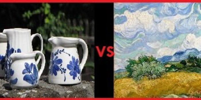 Perbedaan Seni Rupa 2 Dimensi dan 3 Dimensi